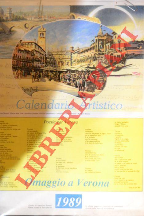 Calendario Artistico.Calendario Artistico Omaggio A Verona