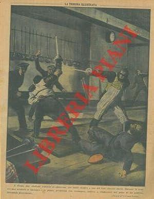 A Gratz durante un duello una sciabola: Pisani V. -