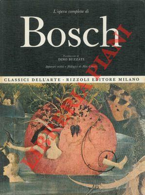 L'opera completa di Bosch.: BUZZATI Dino -