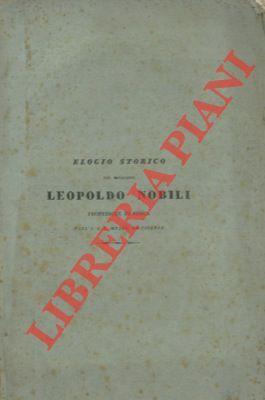 Elogio storico del cav. Professore Leopoldo Nobili: ANTINORI Vincenzio -