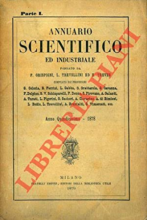 Annuario scientifico ed industriale 1878.