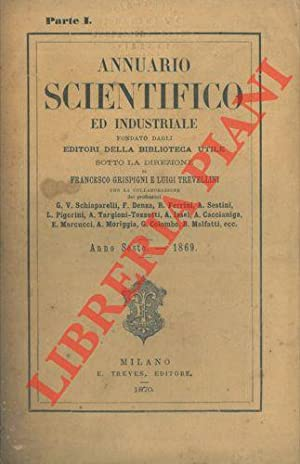 Annuario scientifico ed industriale 1869.