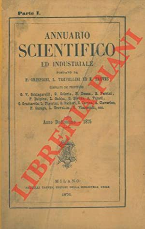 Annuario scientifico ed industriale 1875.