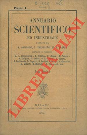Annuario scientifico ed industriale 1873.