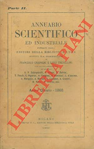 Annuario scientifico ed industriale 1868.