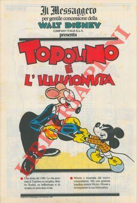 Topolino (Mickey Mouse).: Gottfredson, Floyd; Walsh,