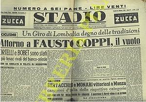 Attorno a Fausto Coppi, il vuoto. (Giro