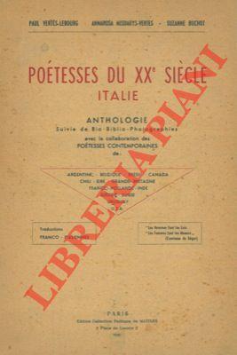 Poétesses du XXe siècle. Anthologie suivie de: VERTES-LEBOURG Paul -