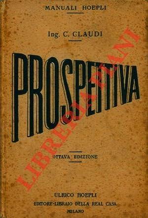 Manuale di prospettiva. Ottava edizione.: CLAUDI Claudio -