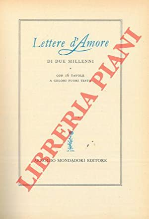 Lettere d'amore di due millenni.: GRIECO Giuseppe) -