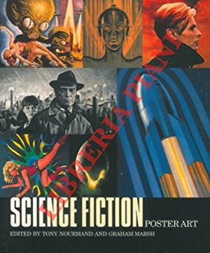Science fiction poster art.