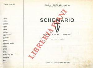 Schemario TV. Completo di note di servizio. Produzione biennio 1966-1967.: BANFI Vittorio) -