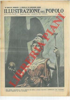 Nel primo decennale della marcia su Roma,: MOLINARI Aldo -