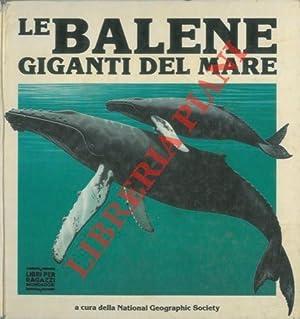 Le balene giganti del mare.: National Geographic Society)