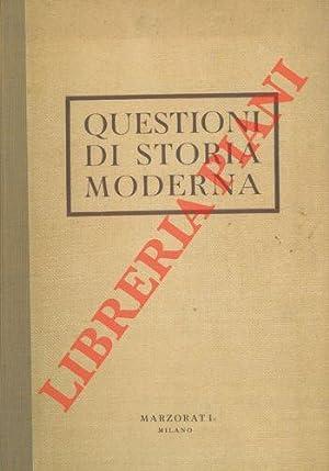 Questioni di storia moderna.: ROTA Ettore) -
