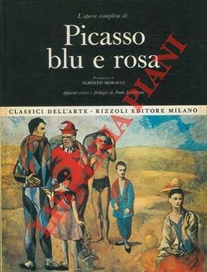 L'opera completa di Picasso blu e rosa.: LECALDANO Paolo -