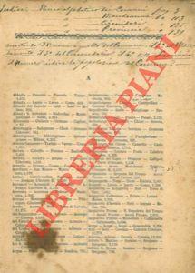 Quadro generale della divisione del Regno d'Italia con indicazione delle Province, dei ...