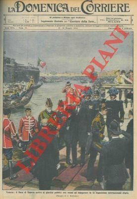 Il Duca di Genova inaugura l'Esposizione Nazionale: BELTRAME A. -