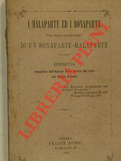 I Malaparte ed i Bonaparte nel primo: DADANI Antonio) -