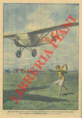 """Il """"golf"""" giocato fra terra e cielo: BELTRAME A. -"""