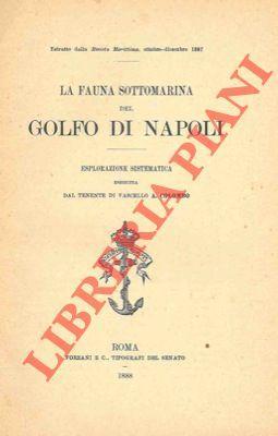 La fauna sottomarina del Golfo di Napoli.: COLOMBO A. -