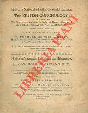 Historia Naturalis Testaceorum Britanniae, or, The British: DA COSTA Emanuel