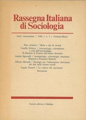 Rassegna italiana di sociologia.