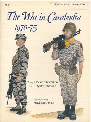 The war in Cambodia 1970-75.: KENNETH Conboy e