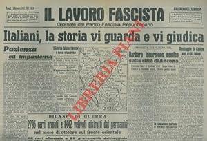 Italiani, la storia vi guarda e vi