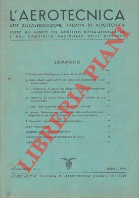 L'aerotecnica. Atti dell'Associazione Italiana di Aerotecnica.