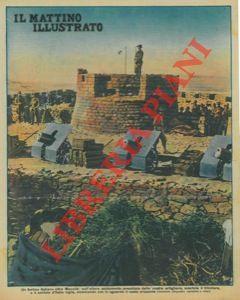 Un fortino italiano oltre Macallé : sull'altura,