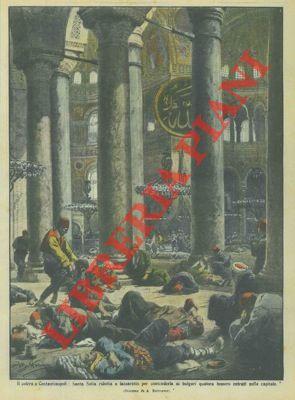 Il colera a Costantinopoli: Santa Sofia ridotta: BELTRAME A. -