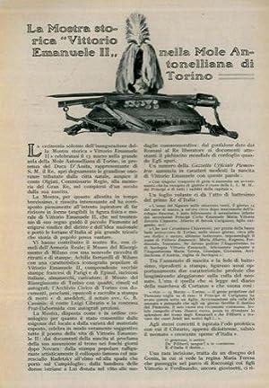 """La mostra storica """"Vittorio Emanuele II"""" nella: COLOMBO Adolfo -"""