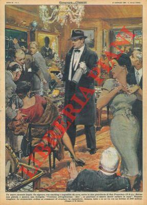 Signore con smoking e soprabito da sera: MOLINO W. -
