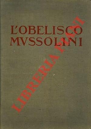 L'obelisco Mussolini.
