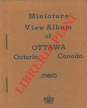 Miniature View Album of Ottawa. Ontario, Canada.