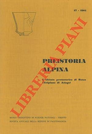 L'abitato protostorico di Rotzo (Altipiano di Asiago): LEONARDI Giovanni -