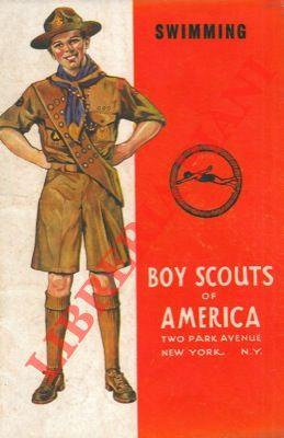 Boy scouts of America. Swimming.