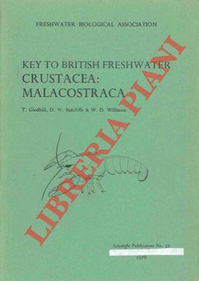 A revised key to the british species of Crustacea: Malacostraca occurring in fresh water. With no...