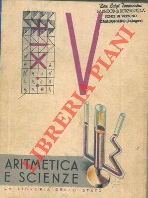 Il libro della V classe elementare. Aritmetica.