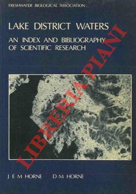Lake District waters: an index and bibliography of scientific research.