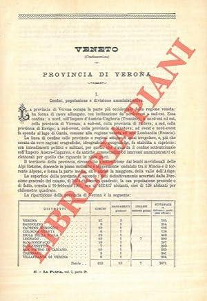 Provincia di Verona. Distretto di Verona, Bardolino,: STRAFFORELLO Gustavo -