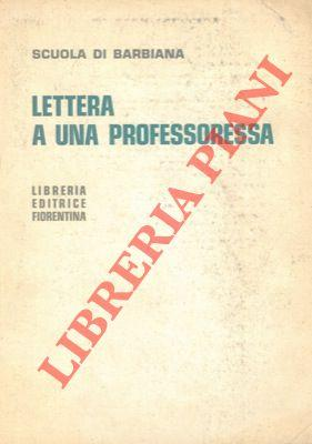 Lettera a una professoressa.: Scuola di Barbiana