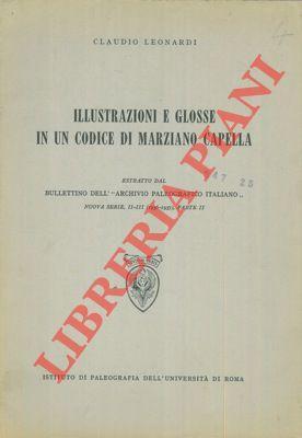 Illustrazioni e glosse in un codice di: LEONARDI Claudio -