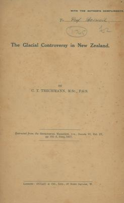 The Glacial Controversy in New Zealand.