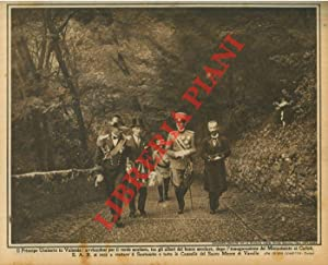 Il Principe Umberto in Valsesia: avviandosi per