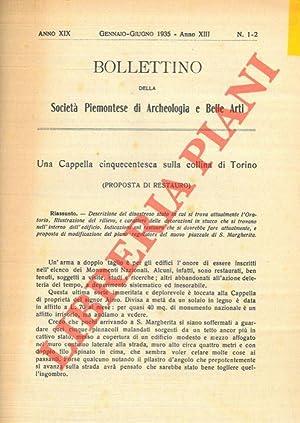 Una Cappella cinquecentesca sulla collina di Torino: RIGOTTI Giorgio -