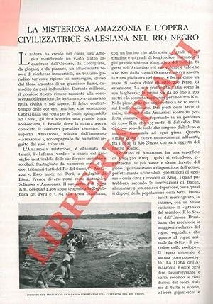La misteriosa Amazzonia e l'opera civilizzatrice salesiana: BAPTISTA Eduardo -