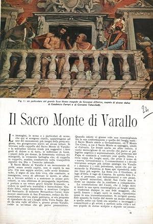 Il Sacro Monte di Varallo.: PIOVENE Guido -
