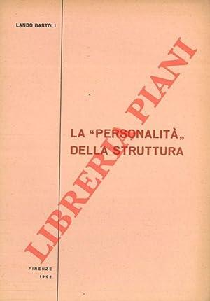 """La """"personalità"""" della struttura.: BARTOLI Lando -"""